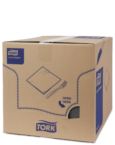Tork Serviette Lunch, Noir
