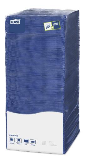 Tork салфетки 25х25 темно-синие